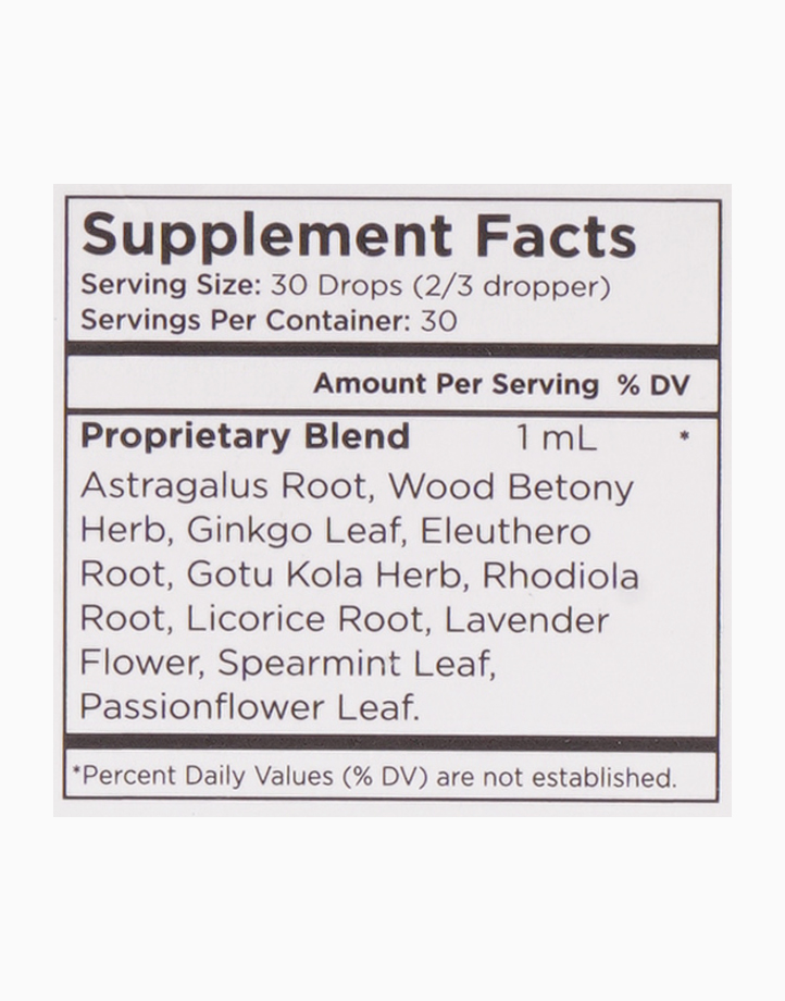 Adrenal & Focus VEGAN Herbal Blend Drops (1oz) by Mary Ruth Organics