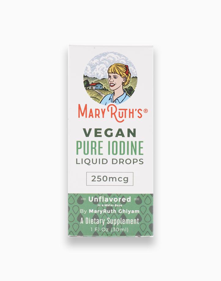 VEGAN Pure Iodine Drops (1oz) by Mary Ruth Organics