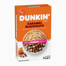 Dunkin' Cereals Caramel Macchiato Naturally & Artificially Flavored (17oz) by Post