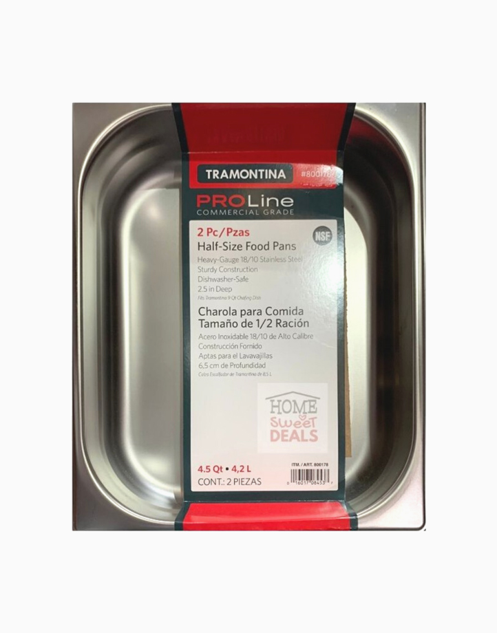Proline Commercial Grade Half Size Food Pans (2pc) by Tramontina