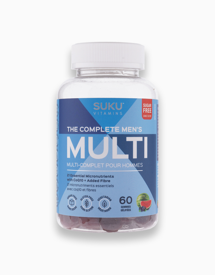 The Complete Men's Multi - Mixed Fruit Fusion (60 Gummies) by SUKU Vitamins