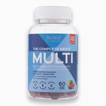 The Complete Men's Multi (60 Gummies) by SUKU Vitamins