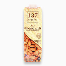 Real Almond Milk Unsweetened (1L) by 137 Degrees
