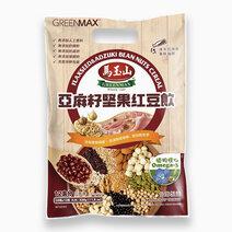 Flaxseed & Adzuki Bean Nuts Cereal (28g x 12) by Greenmax