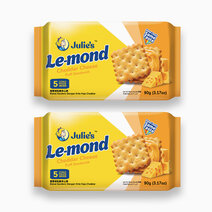 Le-Mond Cheddar Cheese Puff Sandwich (288g - Pack of 2) by Julie's Biscuits