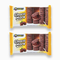 Choco More Sandwich (160g - Pack of 2) by Julie's Biscuits