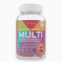 The Complete Kids Multi (60 Gummies) by SUKU Vitamins