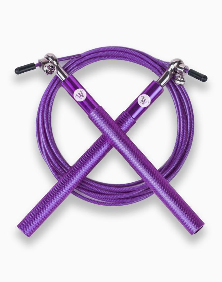 WanderSkip Eco-Friendly Speed Rope by Wandergym | Violet