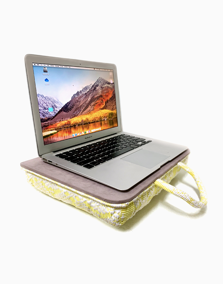 Laptop Pillow by Habi Home |
