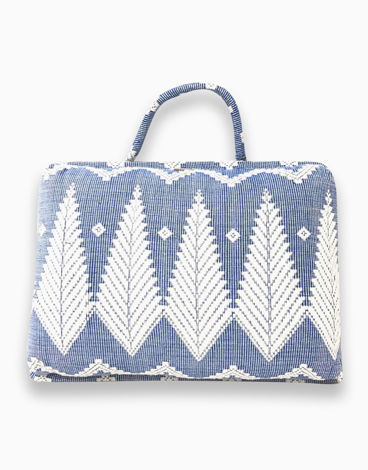 Laptop Pillow by Habi Home | Blue Feather