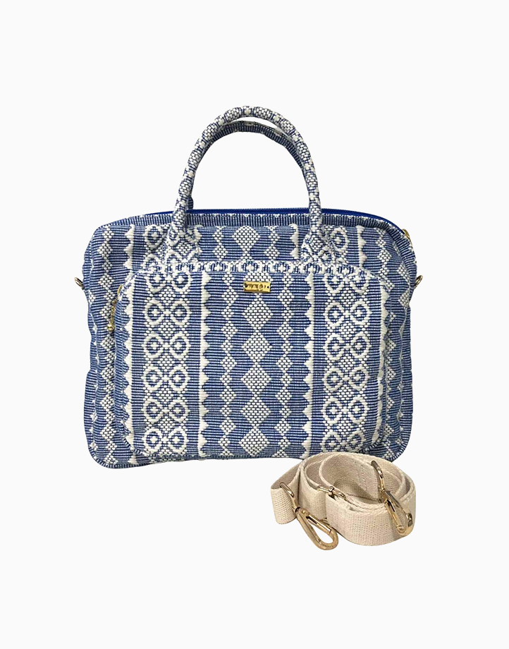 Laptop Bag by Habi Home   Blue Ribbon