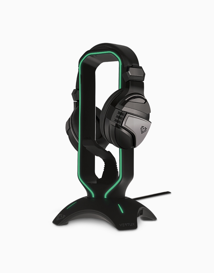 Extent Multi-Purpose Mouse Bungee with Headphone Stand & USB Hub by Vertux