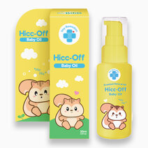 Hicc-Off Natural Hiccup Massage Oil by Tiny Buds