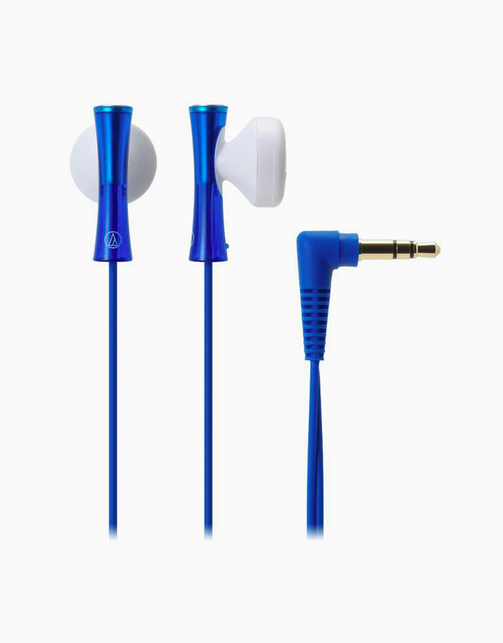 Colorful and Stylish Earphones (Blue) by Audio-Technica