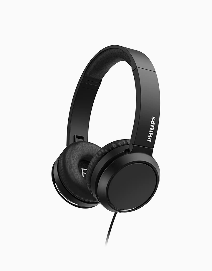 Wired On-Ear Headphones by Philips   Black