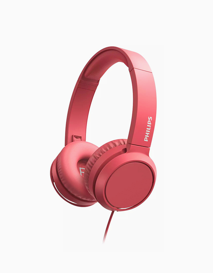 Wired On-Ear Headphones by Philips   Red
