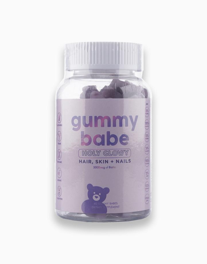 Holy Glowy (Hair, Skin + Nails) by Babe Formula - 5000mcg of Biotin (60 Gummy Babes) by Gummy Babe