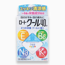 Cool 40a Alpha Vitamin - Good for Tired Eyes (Cool) by Rohto