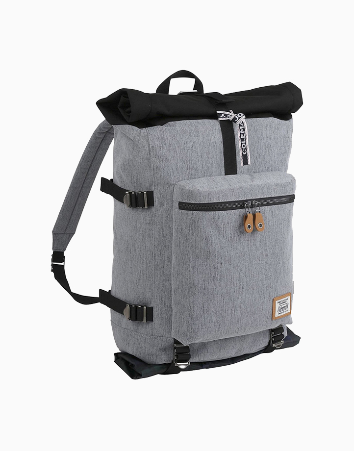 Journey Roll Top Backpack by Coleman   Heather