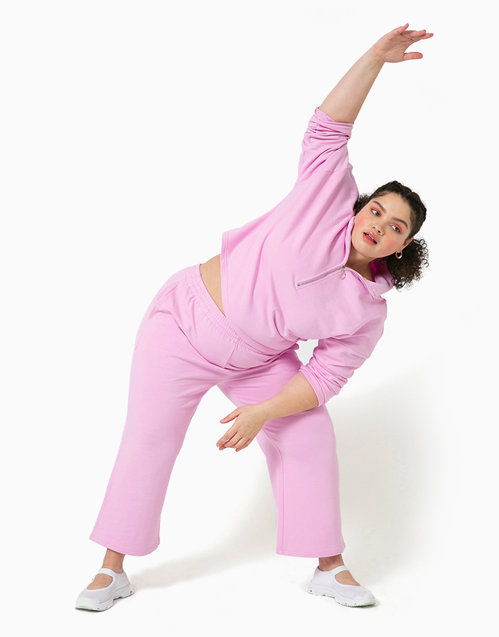 Comfort Zone Pant in Taffy by Recess   XS
