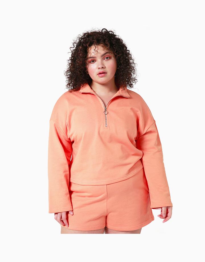Comfort Zone Pullover in OJ by Recess |
