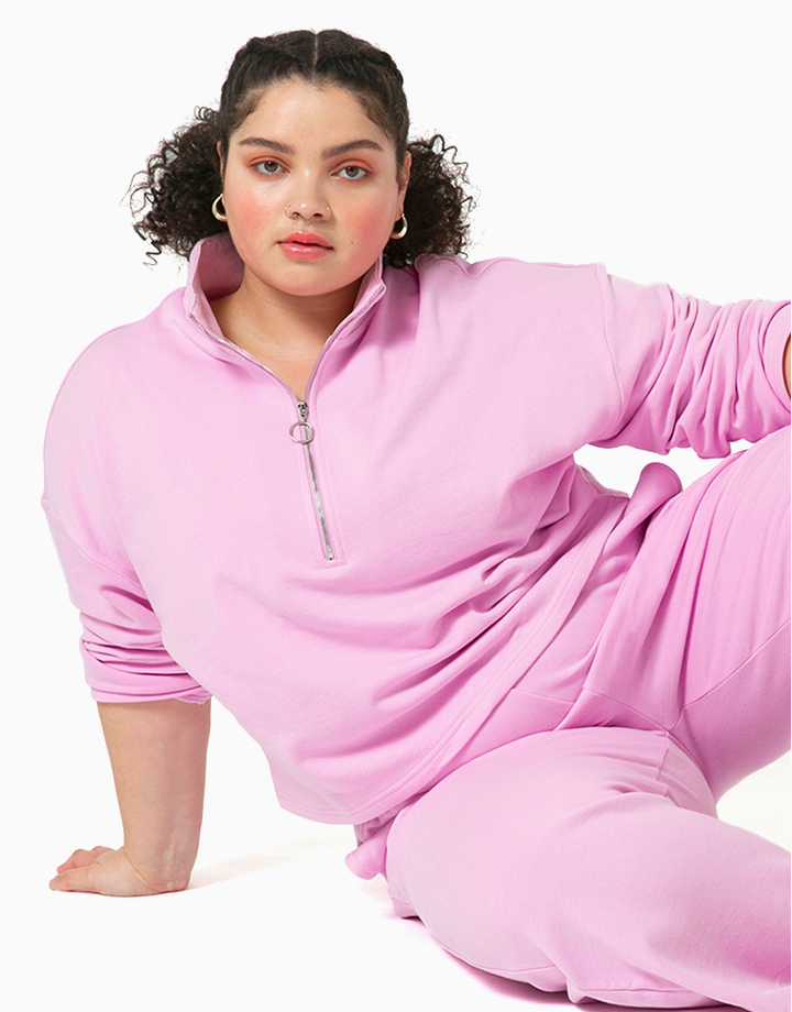 Comfort Zone Pullover in Taffy by Recess | S