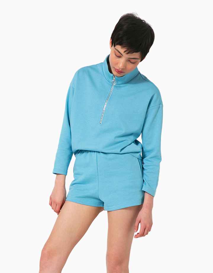 Comfort Zone Pullover in Poolside by Recess | XS