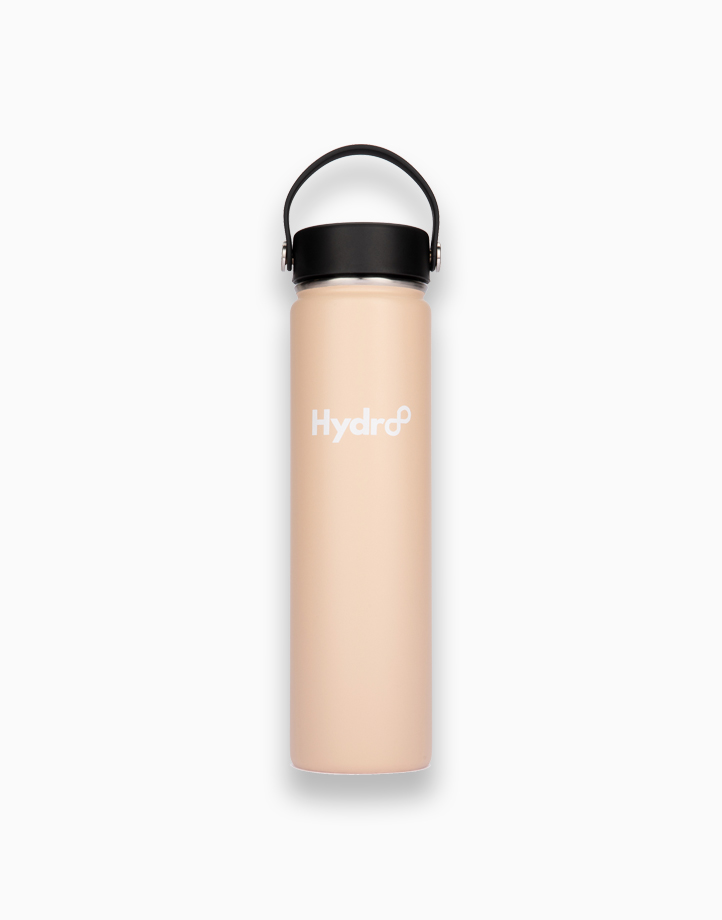 Hydr8 24 oz. (750 ml) Wide Mouth Insulated Stainless Steel Water Bottle / Tumbler by Hydr8 | Beige