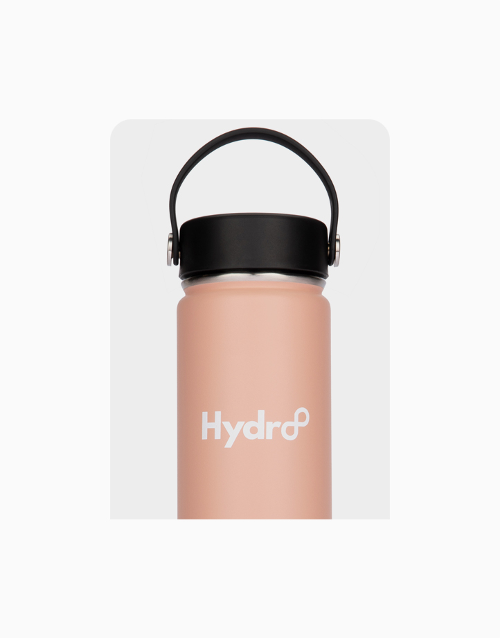 Hydr8 24 oz. (750 ml) Wide Mouth Insulated Stainless Steel Water Bottle / Tumbler by Hydr8 | Nude Pink
