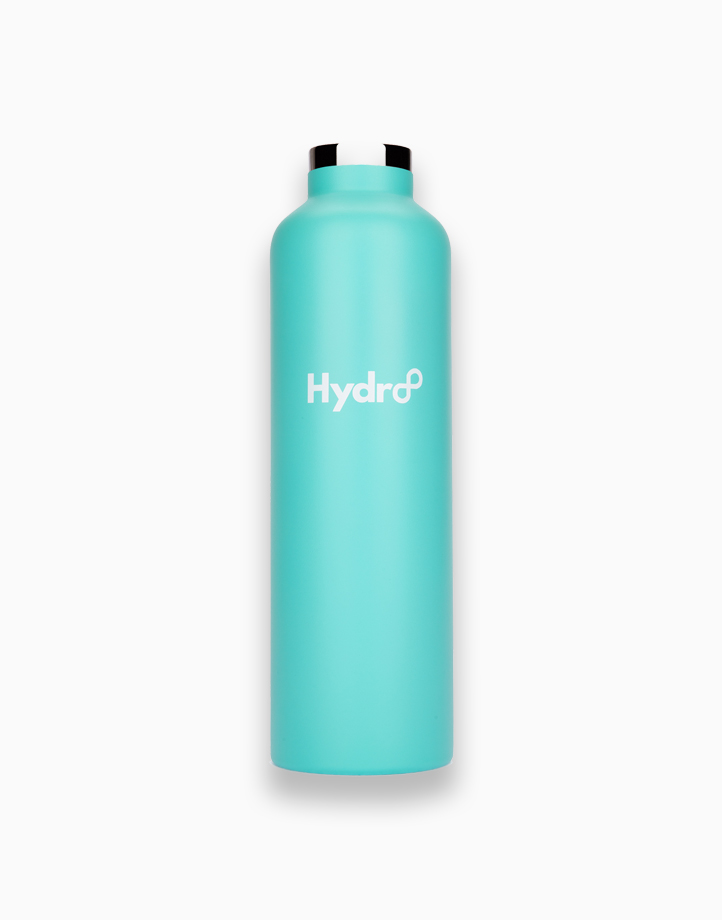 Hydr8 32 oz. (1000 ml) Standard Mouth Insulated Stainless Steel Water Bottle / Tumbler by Hydr8   Aqua Blue