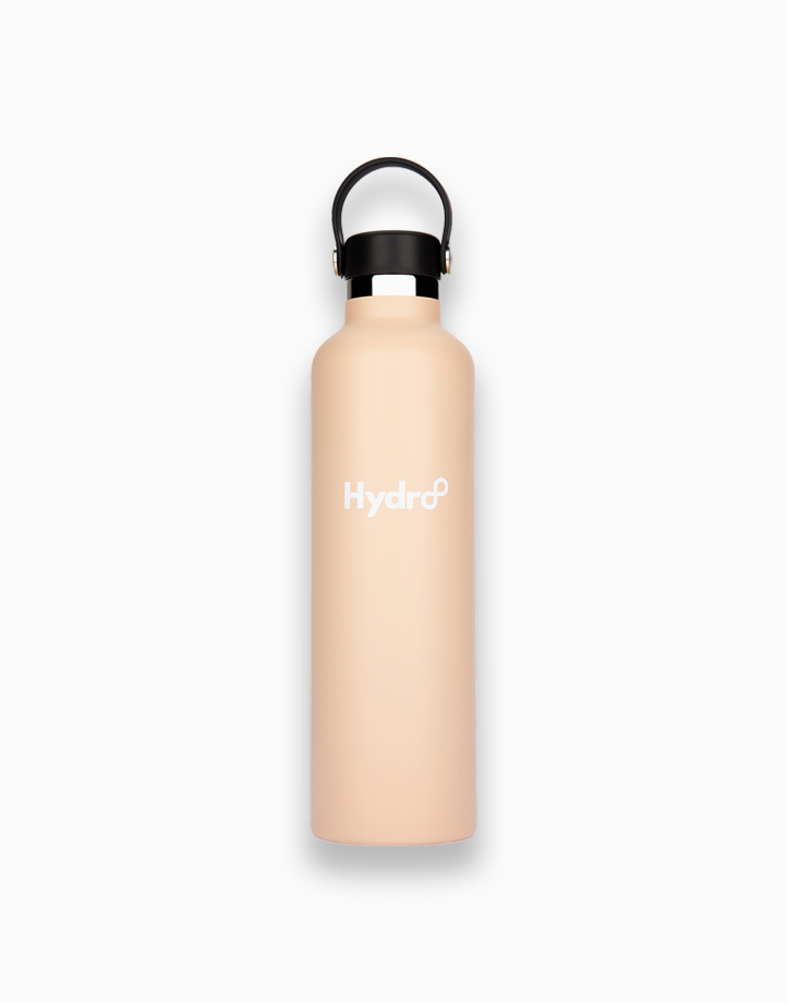Hydr8 32 oz. (1000 ml) Standard Mouth Insulated Stainless Steel Water Bottle / Tumbler by Hydr8   Beige