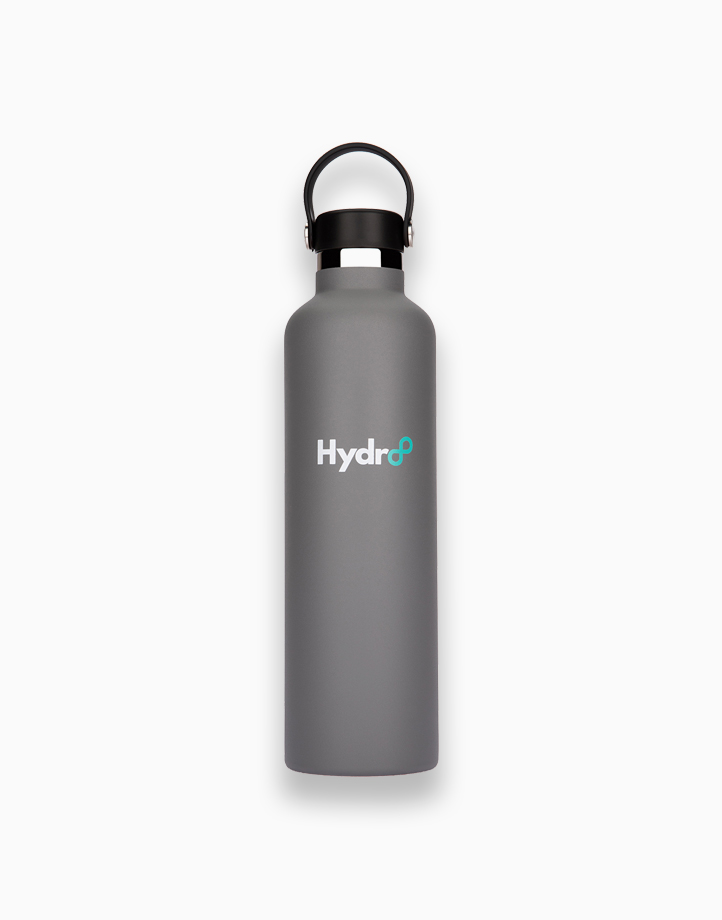 Hydr8 32 oz. (1000 ml) Standard Mouth Insulated Stainless Steel Water Bottle / Tumbler by Hydr8   Gray