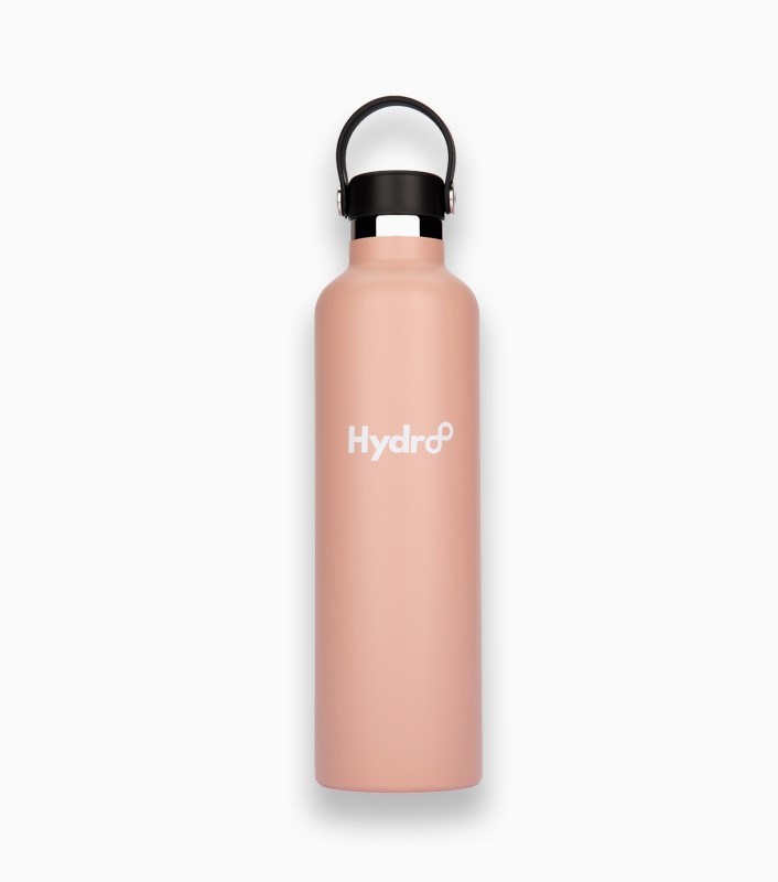 Hydr8 32 oz. (1000 ml) Standard Mouth Insulated Stainless Steel Water Bottle / Tumbler by Hydr8   Nude Pink