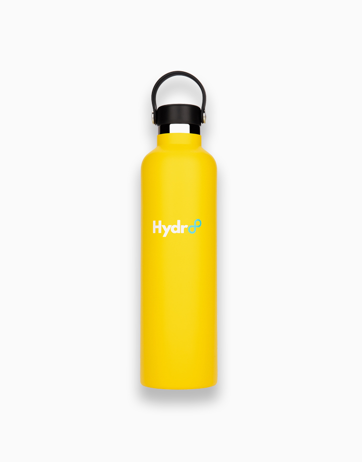 Hydr8 32 oz. (1000 ml) Standard Mouth Insulated Stainless Steel Water Bottle / Tumbler by Hydr8   Yellow