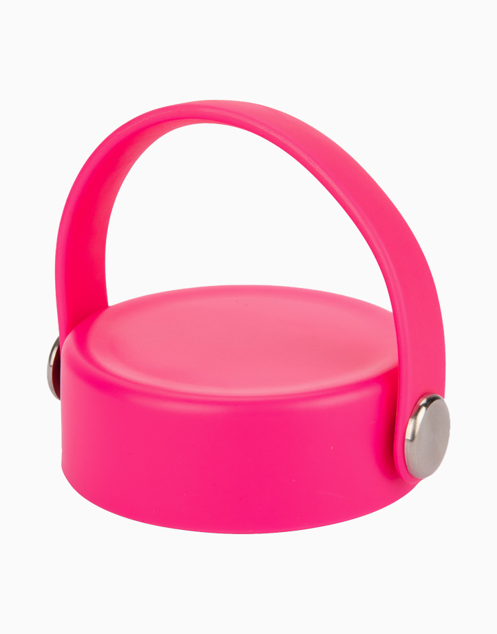 Hydr8 Tumbler Cover Cap for Wide Mouth Bottle Tumbler by Hydr8 | Pink Cap
