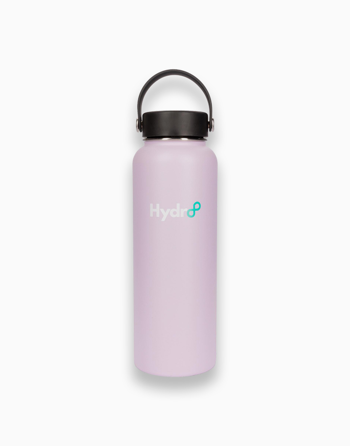Hydr8 40 oz. (1180 ml) Wide Mouth Insulated Stainless Steel Water Bottle Tumbler by Hydr8   Lilac