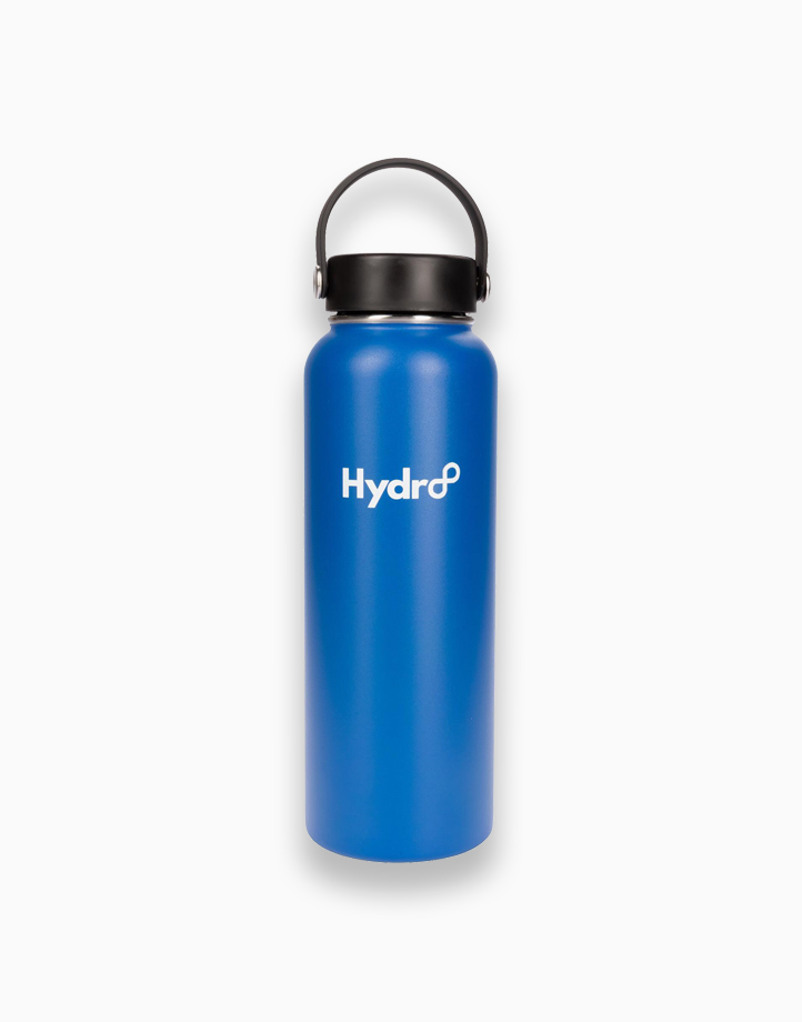 Hydr8 40 oz. (1180 ml) Wide Mouth Insulated Stainless Steel Water Bottle Tumbler by Hydr8   Royal Blue