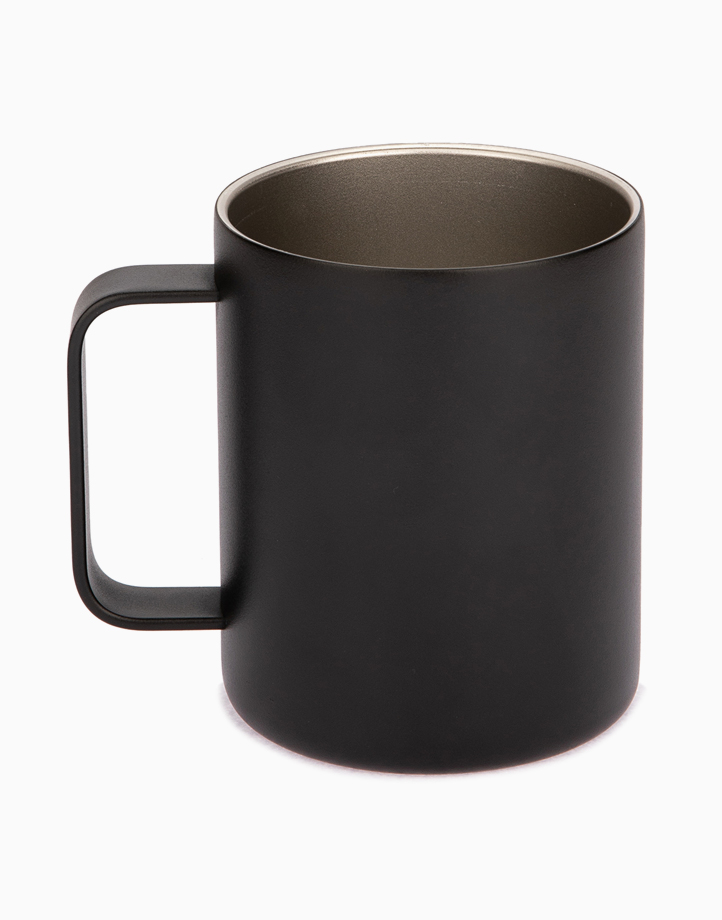 Hydr8 12 oz. (350 ml) Coffee Mug Insulated Stainless Steel by Hydr8   Black