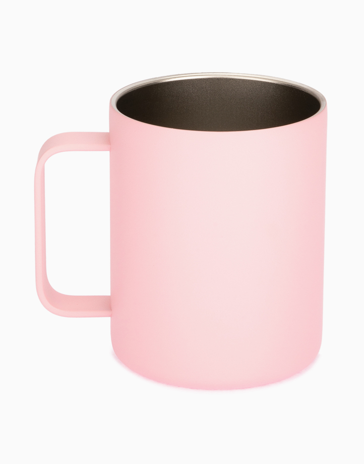 Hydr8 12 oz. (350 ml) Coffee Mug Insulated Stainless Steel by Hydr8   Pink