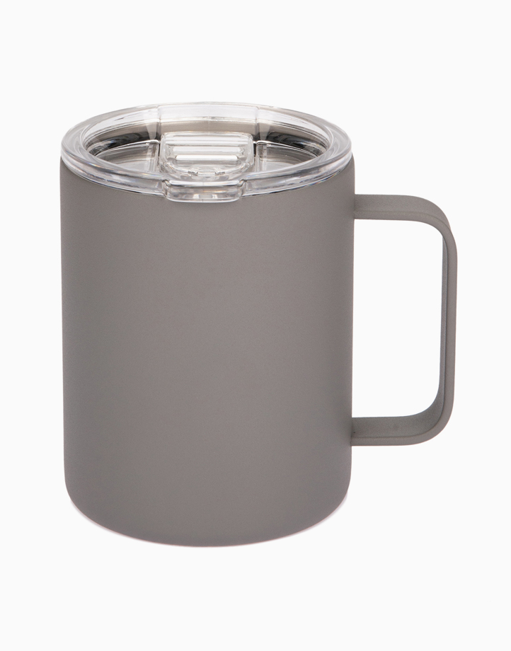 Hydr8 12 oz. (350 ml) Coffee Mug Insulated Stainless Steel by Hydr8   Gray
