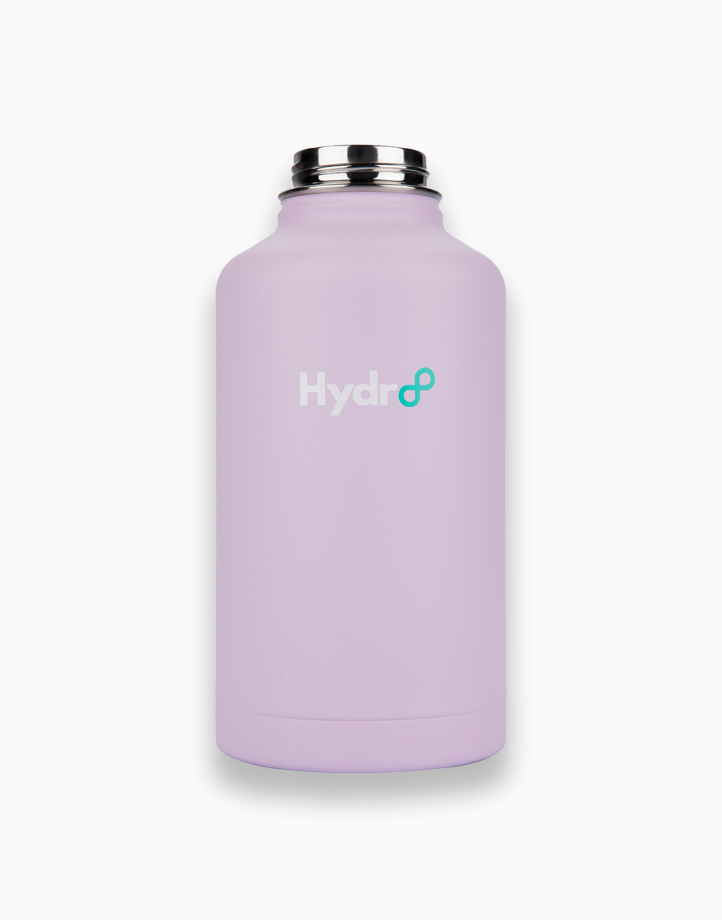 Hydr8 64 oz. (1892 ml) Wide Mouth Insulated Stainless Steel Water Bottle Tumbler by Hydr8 | Lilac