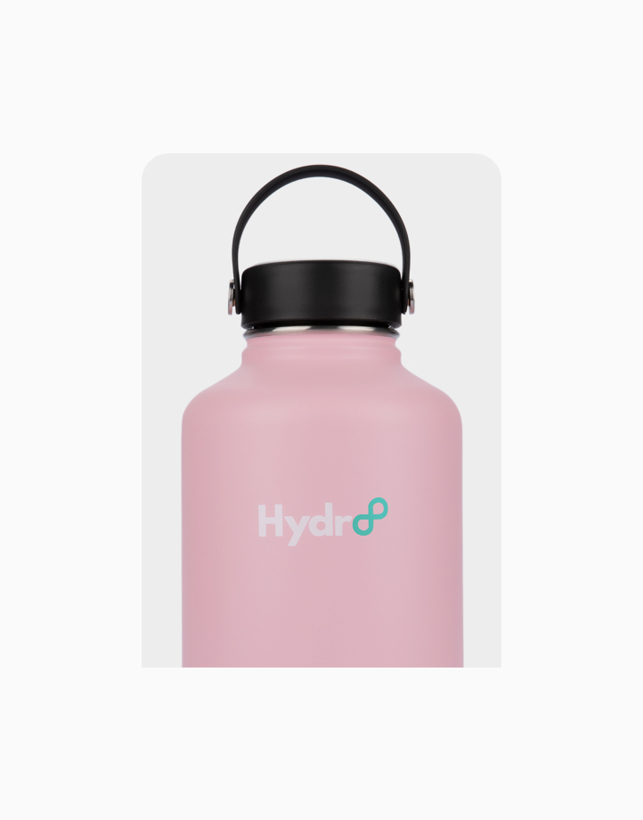 Hydr8 64 oz. (1892 ml) Wide Mouth Insulated Stainless Steel Water Bottle Tumbler by Hydr8 | Pink