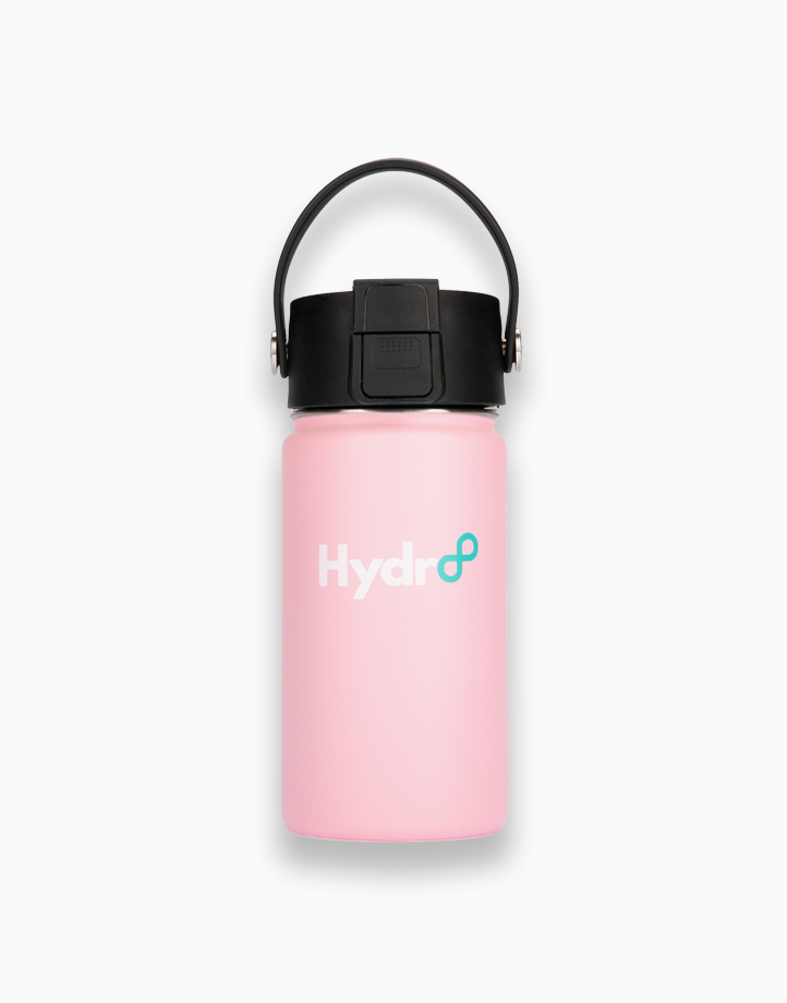 Hydr8 12 oz. (350 ml) Wide Mouth Insulated Stainless Steel Water Bottle Tumbler by Hydr8 | Pink