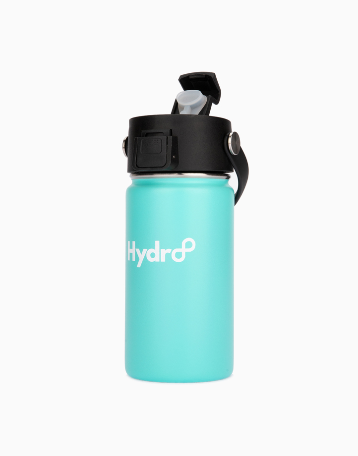 Hydr8 12 oz. (350 ml) Wide Mouth Insulated Stainless Steel Water Bottle Tumbler by Hydr8 | Aqua Blue