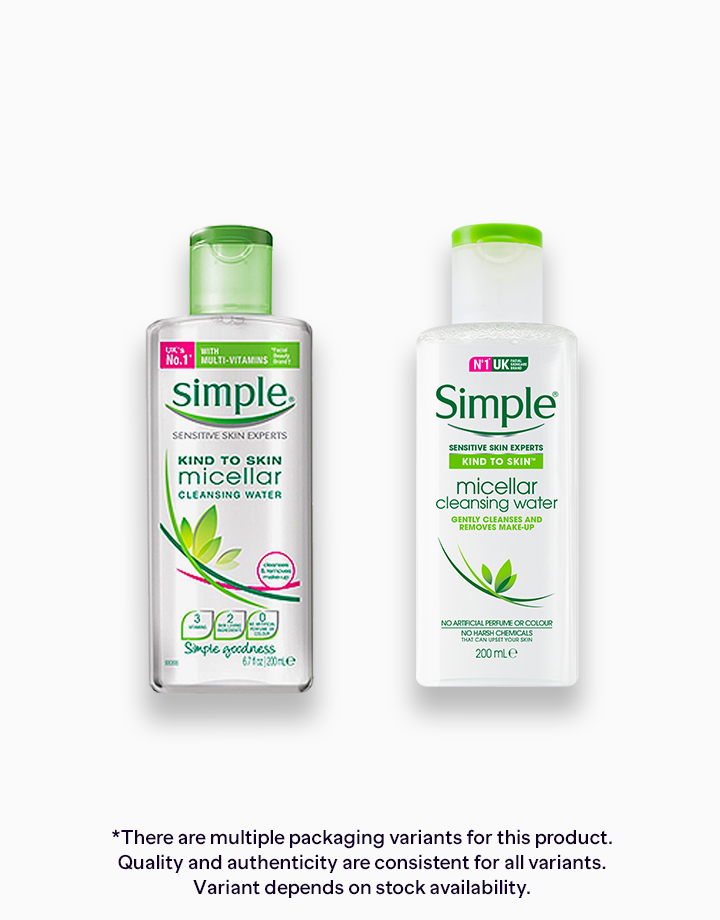 Simple Micellar Cleansing Water (200ml) by Unilever Beauty