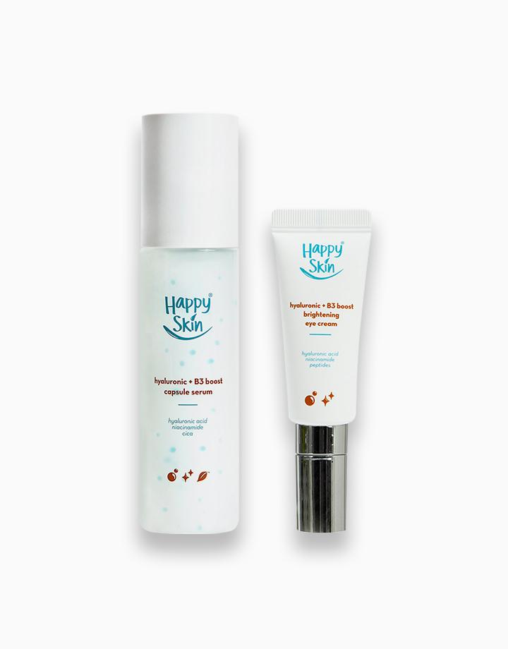 Hydration Boost Duo: Capsule Serum + Eye Cream by Happy Skin