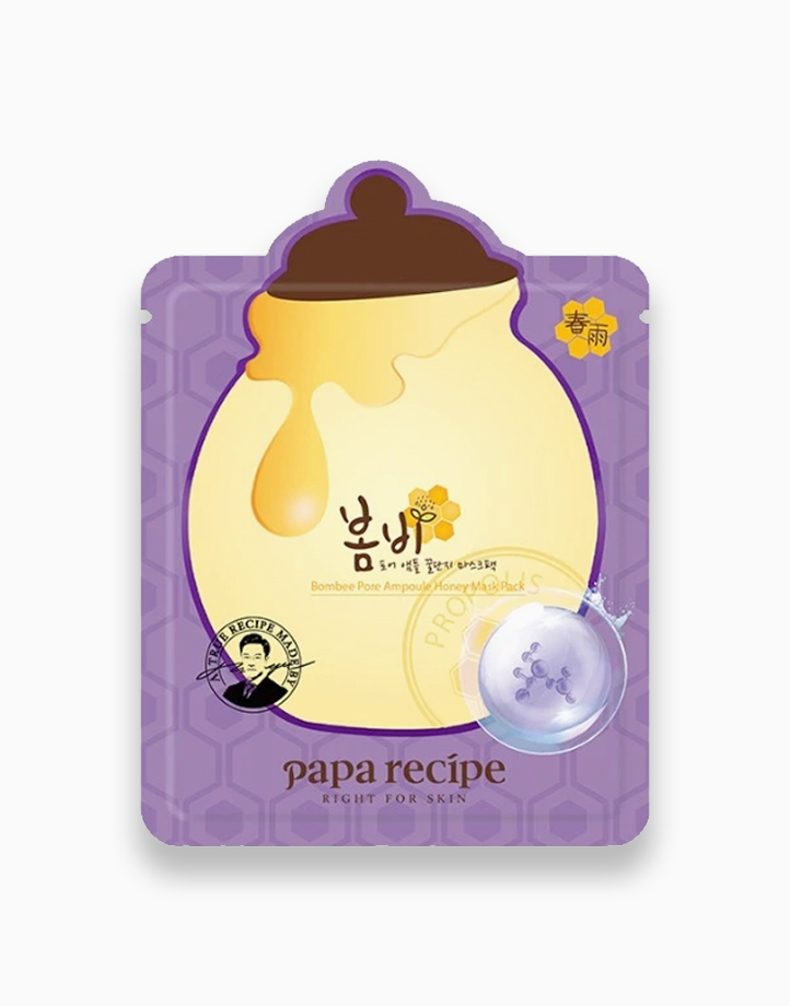 Bombee Pore Ampoule Honey Mask (25g) by Papa Recipe