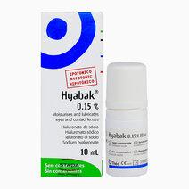 Hyabak 0.15% (10ml) by Hyabak