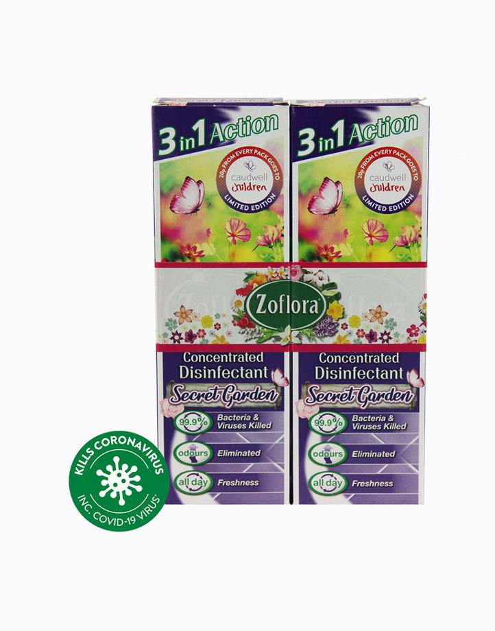Disinfectant Spray (2 x 250ml) by Zoflora | Secret Garden