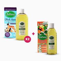 Fresh Home Mountain Air + Mandarin & Lime Bundle (Buy 2 500ml, Get 1 250ml) by Zoflora